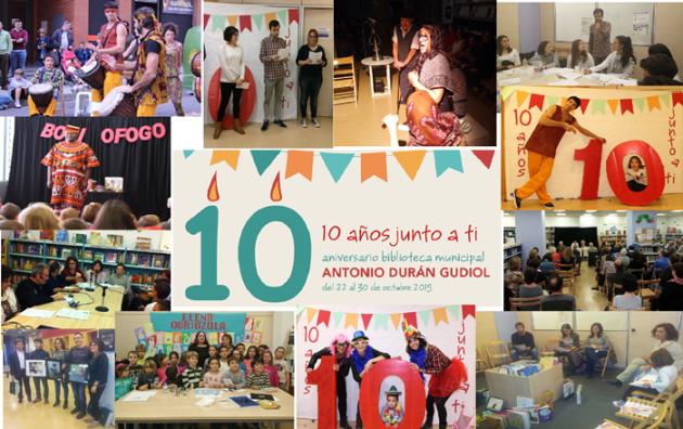 X Aniversario biblioteca Antonio Durán Gudiol